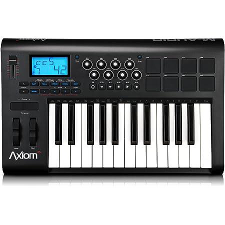 M-Audio Axiom 25 (2nd gen) - Controlador MIDI (plástico, USB, 25 teclas), color negro