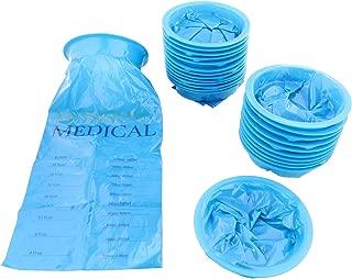 MonMed Emesis Bags 25pk Car Sickness Bags, Air Sickness Bag, Motion Sickness Bags, Nausea Bags, Vomit Bags Disposable