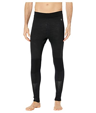 Smartwool Intraknit Merino 200 Bottoms (Black/White) Men