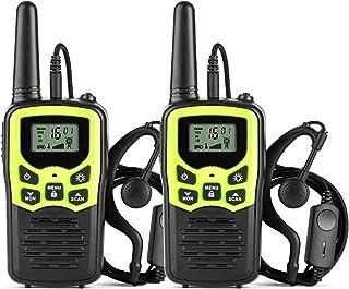 Ankreu Walkie Talkies for Adults &Kids Long Range Walkie Talkie 2 Way Radio up to 5 Miles Range in The Open Fields 22 Chan...