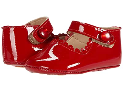Elephantito Mary Jane Baby (Infant) (Patent Red) Girl