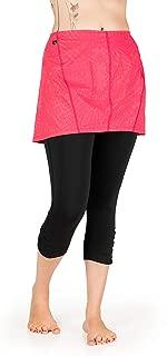 Skirt Sports Women's Reflective Safety Capri Skirt