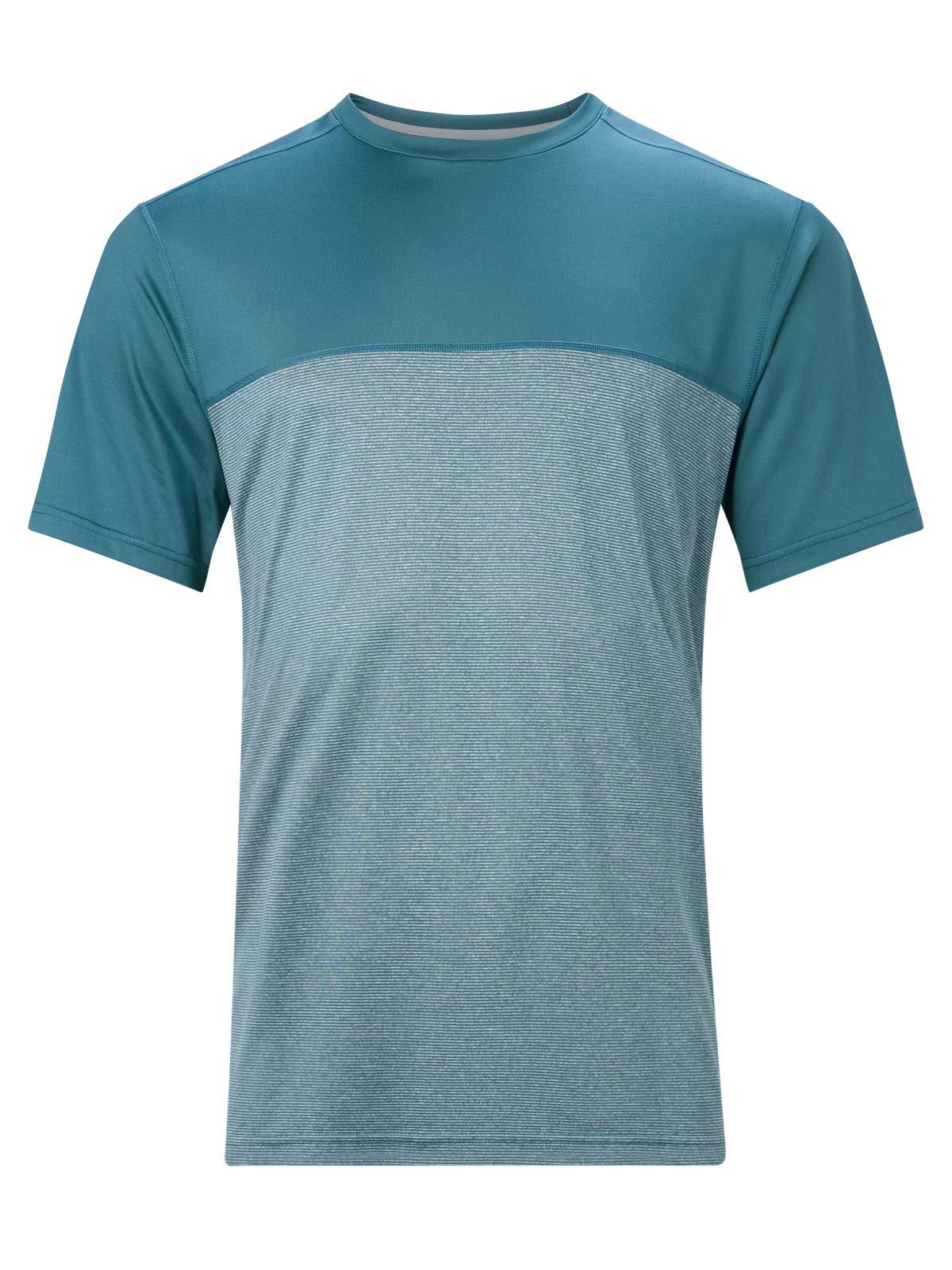 Berghaus Damen Voyager Base Layer Short Sleeve T-Shirt, Rauchsignal, M