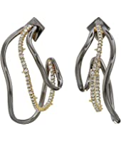 Alexis Bittar - Orbit Wavy Hoop Earrings