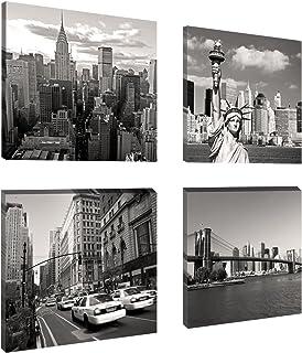 Visario 6901 - Fotografía sobre lienzo (4 x 20 x 20 cm),