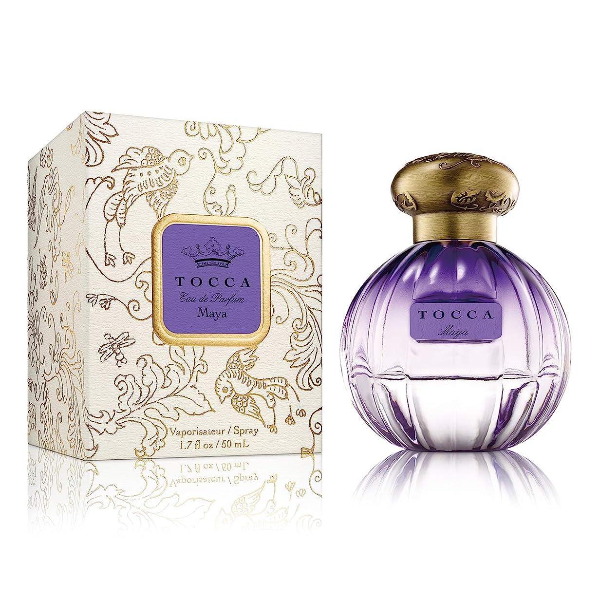 ノイズ型ホイールTOCCA オードパルファム マヤの香り 50mL(香水?オークモスのフローラルウッディの香り)