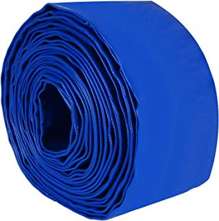 """OrdLive 3"""" x 32.8 Feet Heavy Duty PVC Swimming Pool Backwash Hose with Hose Clamp, Pool Hose Weather and Chemical Resistan..."""