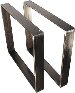 Rapa Plateau pour table design rétro, table châssis design industriel, métal acier, armature de table ...