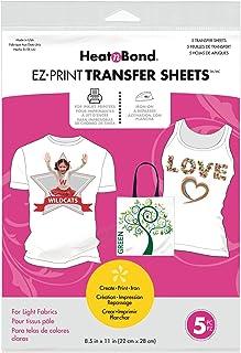 HeatnBond Transfer Sheets, 3367, 8.5-Inch x 11-Inch