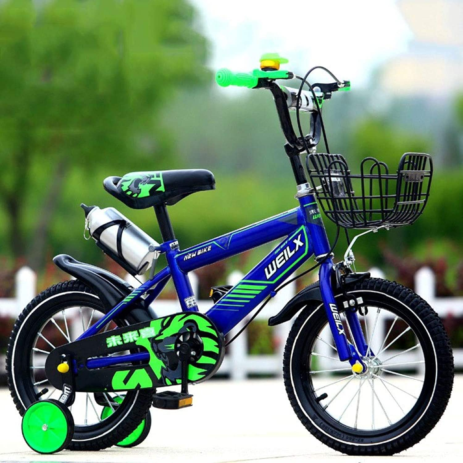 WYTong Bikes for Kids Kids Bike 36YearOld Bicycle Inflatable Tires with Stabilizer Bikes