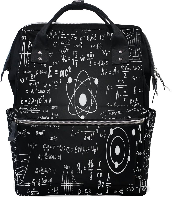WOZO Scientific Formula MultiFunction Diaper Bags Backpack Travel Bag