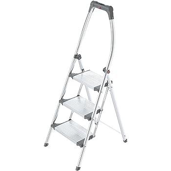 Gierre M27659 - Taburete escalera sempreutile b0060 3 peldaños: Amazon.es: Bricolaje y herramientas