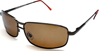 Men's Polarized Wide Navigator Military Pilot Style Sunglasses - James Dean Racer Style