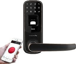 Ultraloq UL3 BT Bluetooth Fingerprint and Touchscreen Keyless Smart Door Lock, Aged Bronze