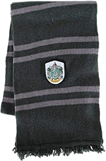 Elope Harry Potter Officially Licensed Lamb's Wool Hogwarts House Scarf- Slytherin Dark Green