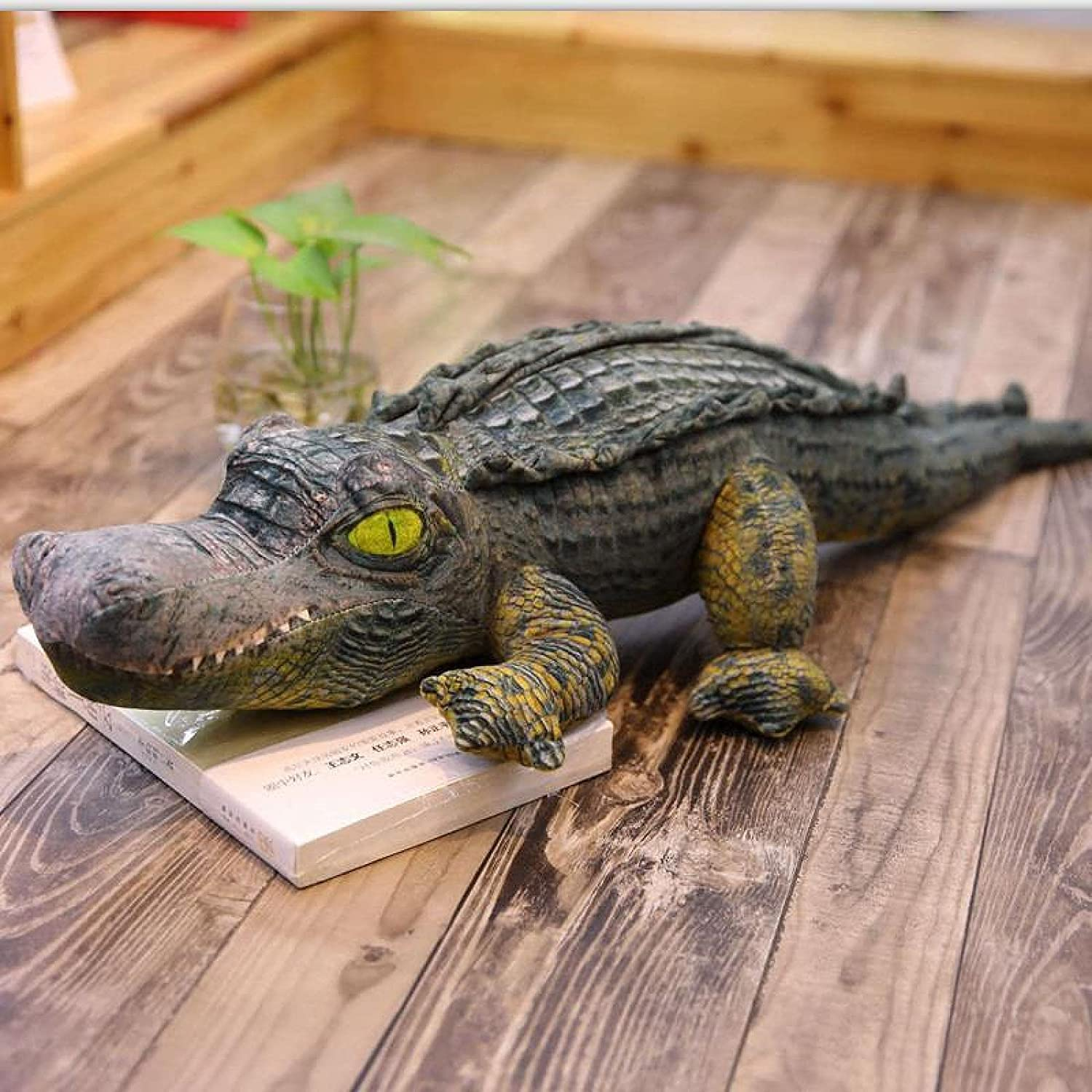 YQHLHT Large San Francisco Mall Soft Recommendation Crocodile Toy Upgrade Cotton Hug Stuffed