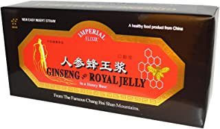 Ginseng & Royal Jelly Extract 10CC Imperial Elixir (Ginseng Company) 30 Vial