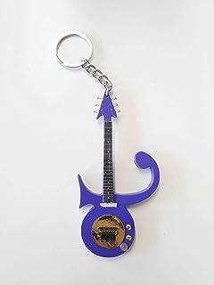 UK Seller Prince: Love Symbol Keyring /& Magnet Variation Dark Purple
