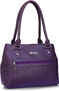 Aisna women purple Handbag (ASN-056) (purple)