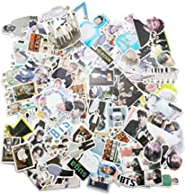 Kpop Bangtan Boys Stickers BTS 135pcs Laptop Luggage Patches Skateboard Sticker, Gifts for Army Daughters (135pcs)