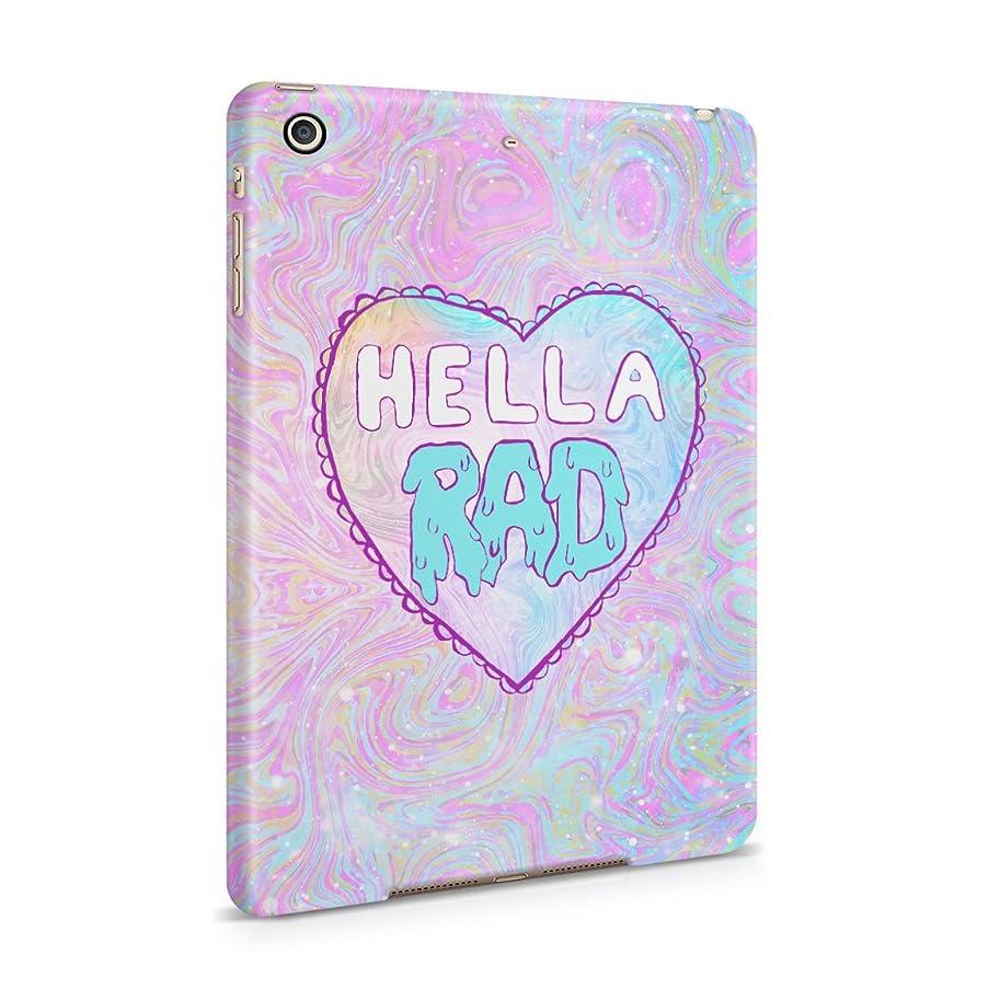Hella RAD Psychedelic Tie Dye Hard Plastic Tablet Case For iPad Mini 2 & 3
