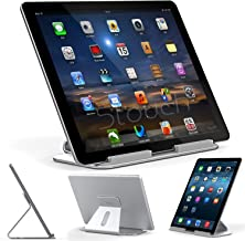 Stouch iPad Pro Stand, Aluminum Stand for iPad Pro with Aluminum Desktop Holder for iPad Pro 12.9 Microsoft Surface Pro 4 3, Samsung Tab Pro £¨Silver£