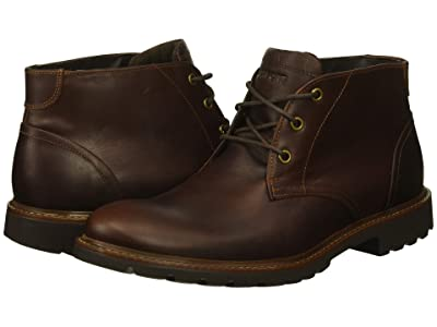 Rockport Sharp and Ready Chukka (Saddle Brown) Men