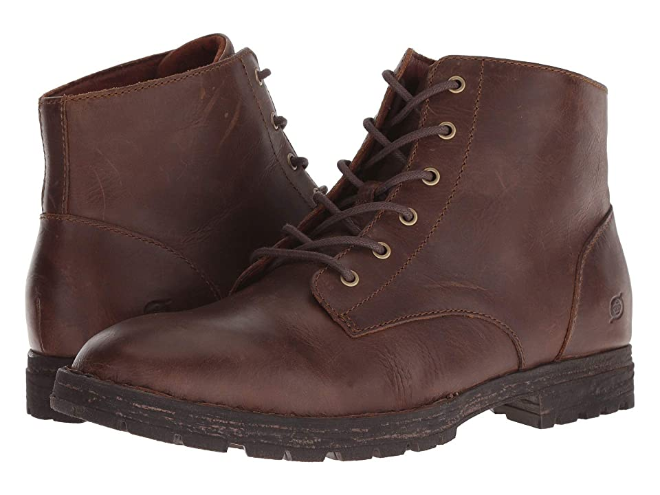 Born Hollis (Light Brown (Nutmeg) Full Grain Leather) Men