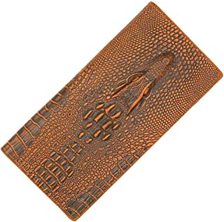 BeniMen's wallet long business crocodile pattern large capacity wallet-Light-light