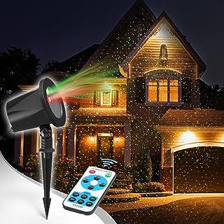Proiettore Luci Natalizie Mediashopping.Amazon It Proiettori Laser Per Esterno