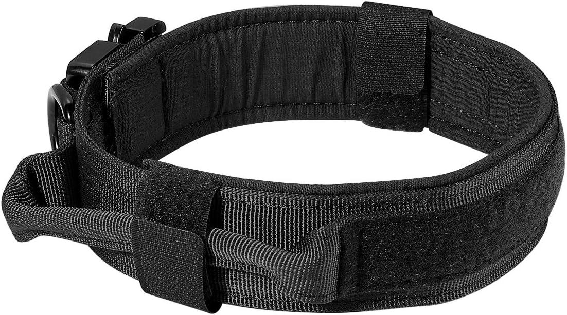 Motusamare Popularity Tactical Dog Collar Adjustable Coll Training Military Max 87% OFF