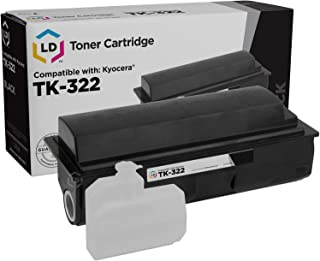 LD Compatible Toner Cartridge Replacement for Kyocera FS-3900DN TK-322 (Black)