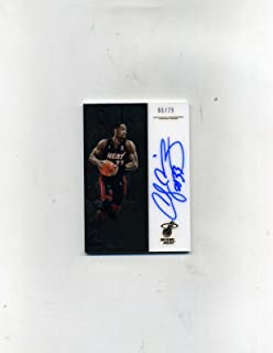 2016-17 Panini Noir Basketball Alonzo Mourning SP Autograph #66/75-On Card - Panini Certified - Basketball Slabbed Autographed Cards