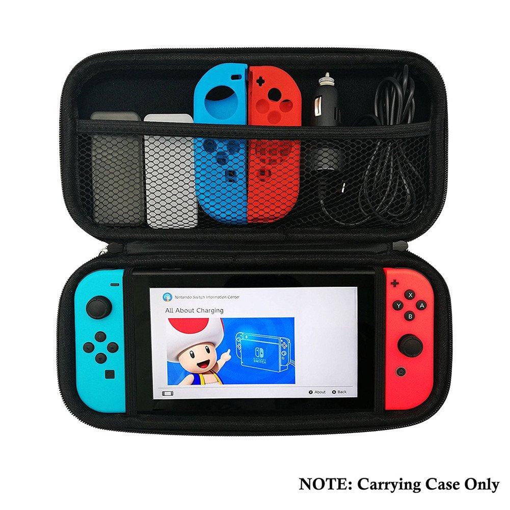 Funda para Nintendo Switch - Bolsa de goma EVA Rígida Case de ...