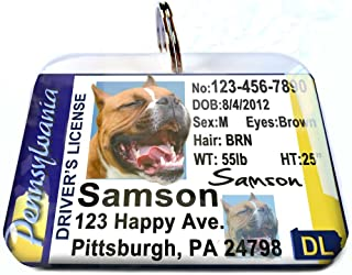 ID4Pet Pennsylvania Driver License for Cats or Dogs