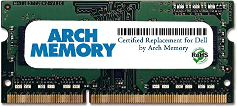Arch Memory Replacement for Dell SNPNWMX1C/4G A6951103 4 GB 204-Pin DDR3L So-dimm RAM for Alienware 17 R1