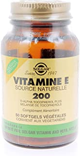 SOLGAR VITAMINA E 200ui (134mg) 50cap.blanda veg.