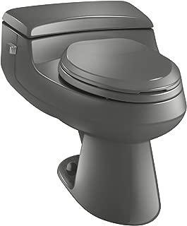 Kohler K-3597-58 San Raphael Comfort Height Pressure Lite 1.0 gpf Elongated Toilet, Thunder Grey