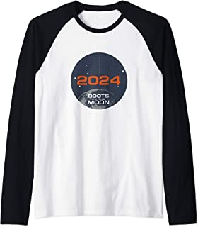 Netflix Space Force 2024 Boots On The Moon Manche Raglan