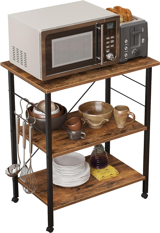 SDHYL Kitchen Baker's Rack Kitchen3 Storage Minneapolis Mall Utility Selling Tier Shelf