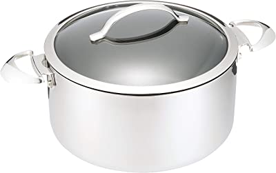 SCANPAN(スキャンパン) 両手鍋 シルバー 6.5L HaptIQ ダッチオーブン 6.5L 6001252600