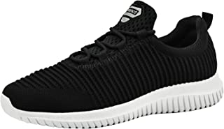 riemot Baskets Femme et Homme, Chaussures de Sport Course Running Fitness Tennis Slip on Leger Confortable Mode Sneakers B...