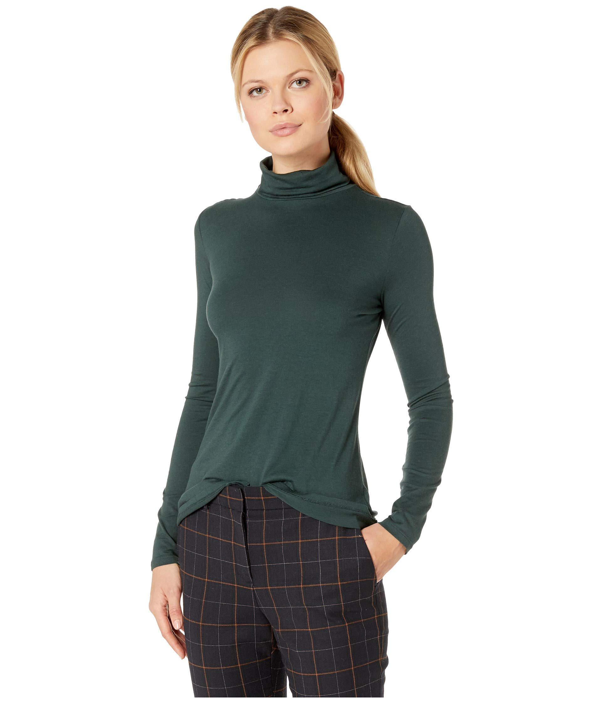 Darkest Long Pendleton Turtleneck Spruce Sleeve tYpwqpa