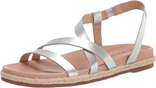 Lucky Brand Footwear Women's Darli Sandal, Silver, 7