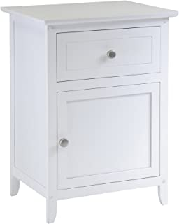 Amazoncom White Nightstands Bedroom Furniture Home Kitchen