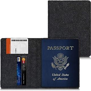 Carteras de Viaje de Luna de Miel y Porta Pasaportes White/&Pink Tri-Coastal Design Set de 2 Fundas para Pasaporte