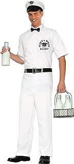 Men's 50's Milkman Costume