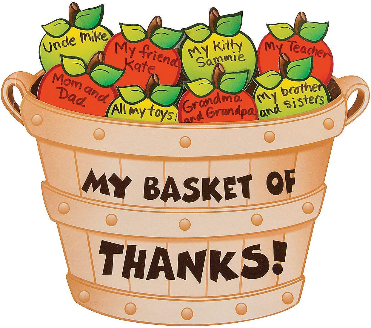 Bushell Inexpensive of Thanks Apple Craft Reservation Kit -12 and - Kids Crafts for Fun
