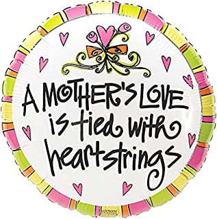 Burton & Burton a Mother's Love Is Tied with Heartstrings Toy Foil Balloon