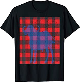 Paul Bunyan Plaid with Babe Blue Ox Graphic